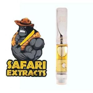 Buy Safari Extracts Vape Oil Cartridge