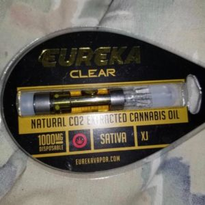 Buy Eureka Vapor Amber High Potency Cartridge