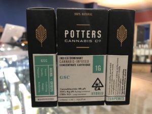 buy Potters Vape Cartridges