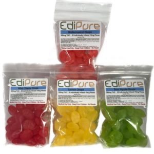 Edipure edible candy edible