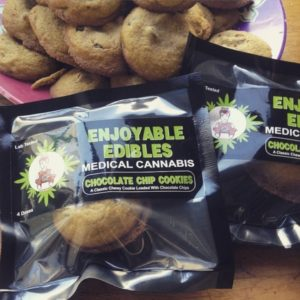 Chocolate Chip Cookie-Enjoyable Edibles